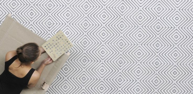The Arrow Milk tiles by Marokk