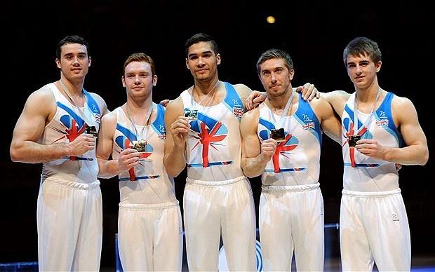 UK Men's Olympic Gymanstic Team