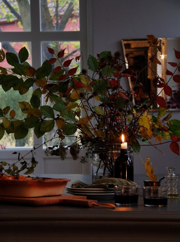 Ugnsbakad Butternut pumpa med Salvia och parmesan