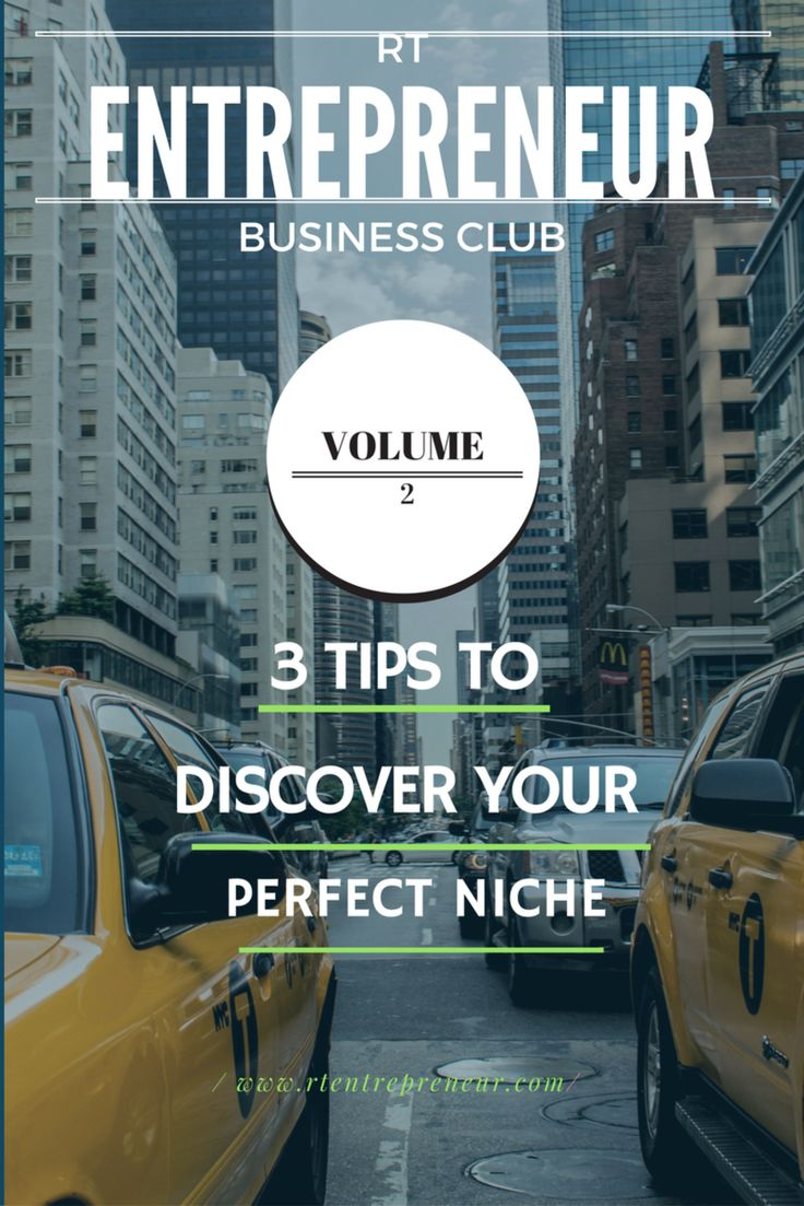 3 Tips To Find Your Perfect Niche – Combine your #passion with #profit! #Niche