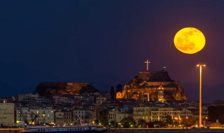Corfu Nightscapes - Τα πιο ρομαντικά νυχτερινά τοπία της Κέρκυρας, μέσα σε 2'