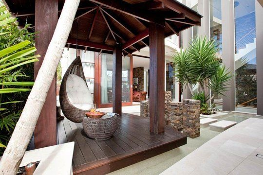 Apartment Therapy Outdoor Hanging Chair