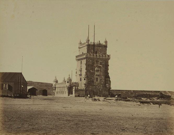   Torre de Belém (data desconhecida)  Autor: Desconhecido