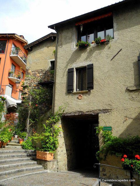 Vico #Morcote adorable village situé au bord du lac de #Lugano dans le canton du #Tessin #Suisse