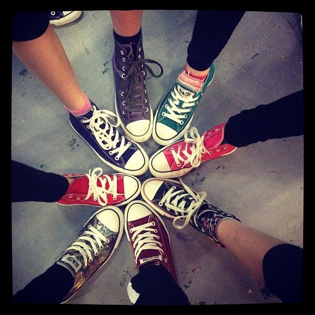 Awesome friendship circle!!!sadly don't know whom the sneakers belong too lol