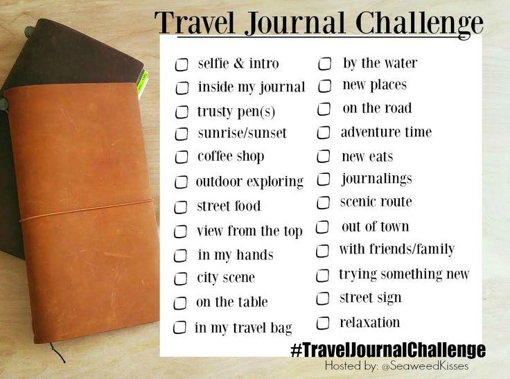 #TravelJournalChallenge for the Summer                                                                                                                                                                                 More