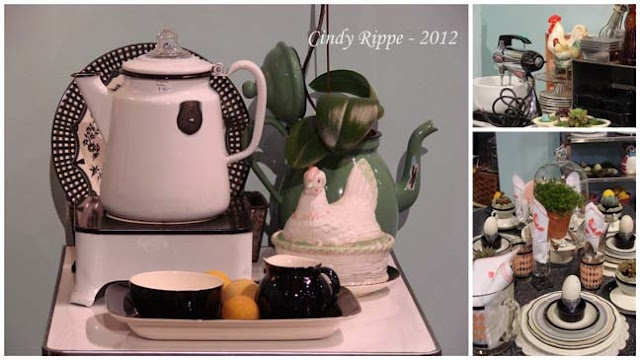 Art in Entertaining by Cindy Rippe: Dance Like a Chicken in the Kitchen