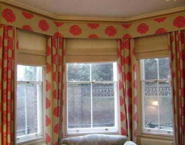 photos of window treatments for a bow window neededbay window treatment modern for three small. Black Bedroom Furniture Sets. Home Design Ideas