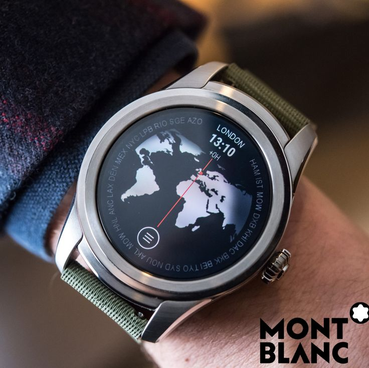 Hands-On article live right now with the new Montblanc Summit Smartwatch, with unmistakably Montblanc 1858-inspired dials. A first for Montblanc! All details on aBlogtoWatch.com now. #BeAhead #MontblancSummit #sponsoredpost