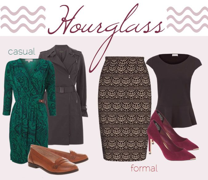 How to dress for an hourglass body shape: outfit ideas for hourglass body types