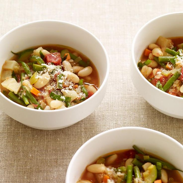 Soupe minestrone à la mijoteuse | Weight Watchers