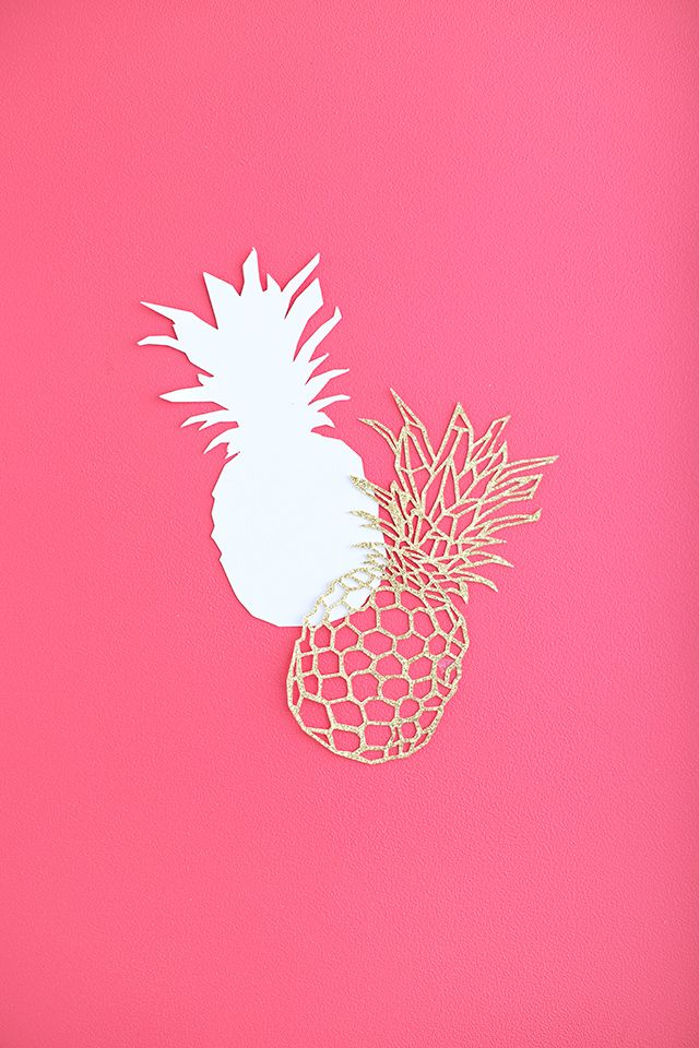 Silhouette America Blog | Pineapple Cake Topper – Free Design of the Week