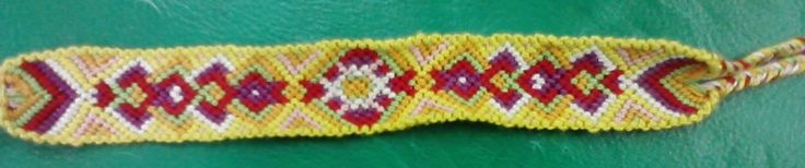 Spring friendship bracelet