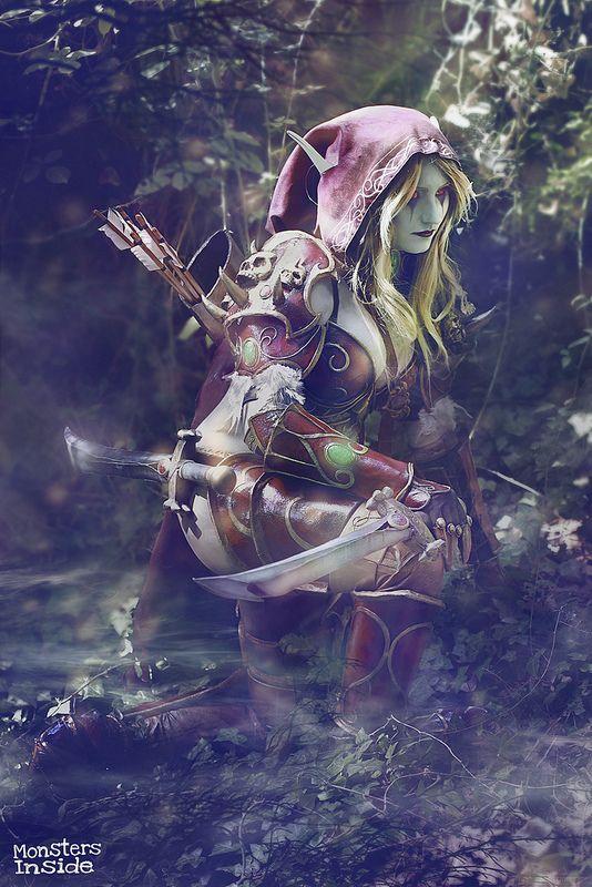 Night Elf #cosplay - WORLD OF WARCRAFT