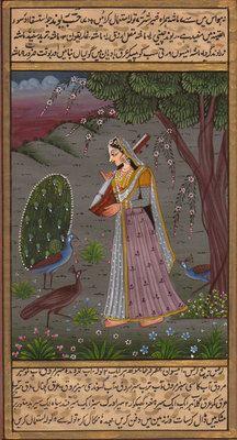 RAGAMALA-MINIATURE-PAINTING-Indian-Rajasthani-Vasanta-Ragini-HANDMADE-Ethnic-Art-190677637237.jpg (216×400)
