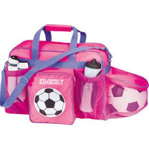 6719c841f2 Lillian Vernon  Personalized Soccer Bag - Girl Soccer Bag ...