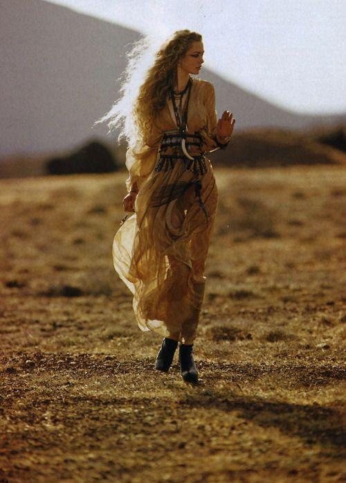 .: Maxi Dresses, Bohemian Fashion, Beautiful, Bohemian Dresses, Desert Rose, Necklaces, Bohemian Style, Into The Wild, Bohemian Gypsy