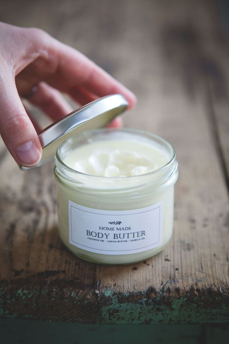 homemade body butter (natural/organic/paraben free)
