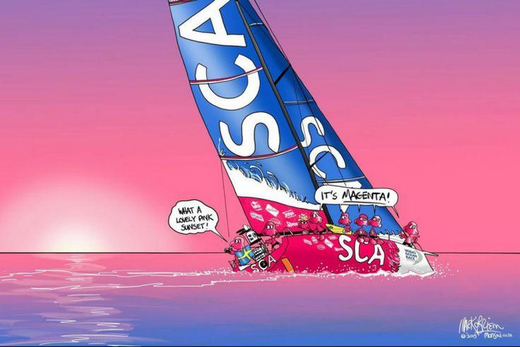 Art attack   Volvo Ocean Race 2014-2015