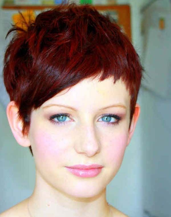 easy pixie haircuts red