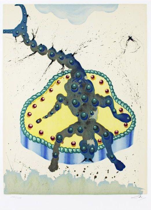 Les signes du zodiaque par Salvador Dali   les 12 signes du zodiaque par salvador dali scorpion