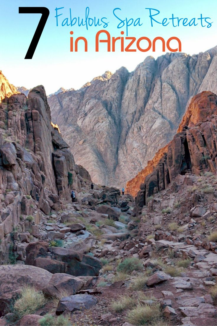 Fabulous Spa Retreats in Arizona