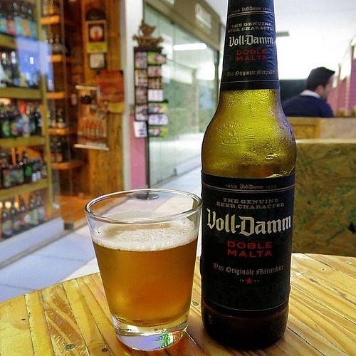 Voll-Damm Doble Malta - Das Originale Märzenbier