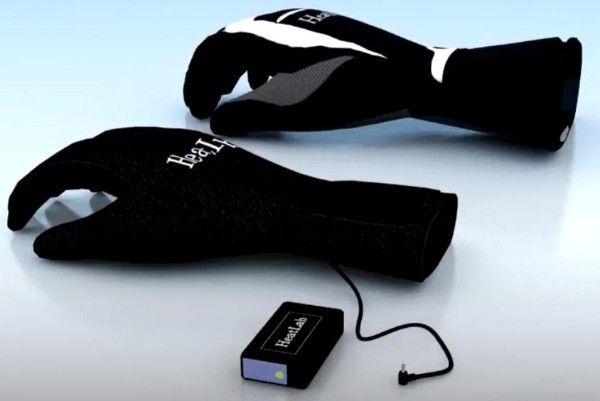 HeatLab Performance heated giggs (glove-in-glove-gloves) / Beheizbare Handschuhe HeatLab www.vonruetzen.de