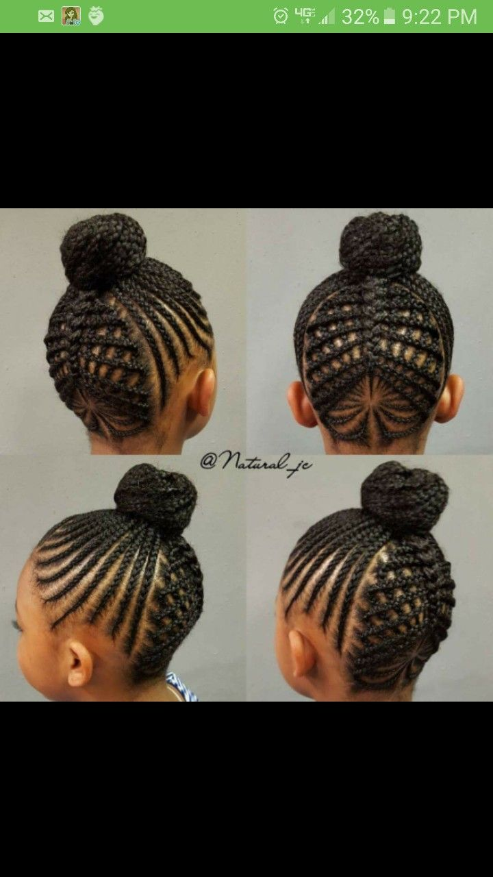 Cute Cornrow Hairstyles For My Baby Cornrow Hairstyles Girls