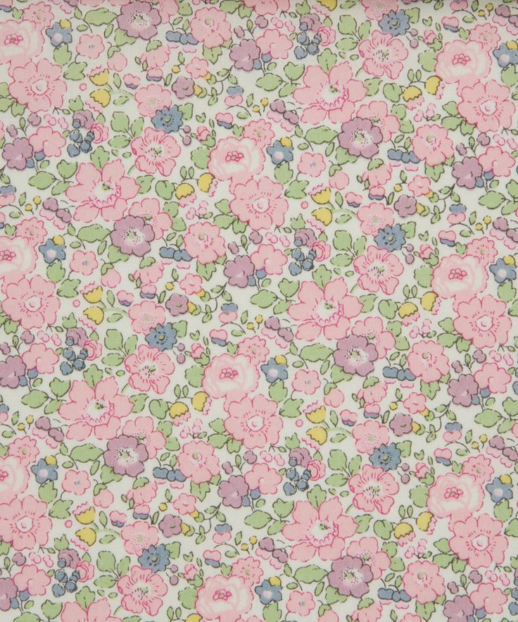 Sense of Liberty is the sixth and final sense in our collection, showcasing world famous small florals and reflecting the heritage of Liberty Art Fabrics.   Betsy Ann is a miniature version of the famous Liberty classic print 'Betsy' which originates from 1933.
