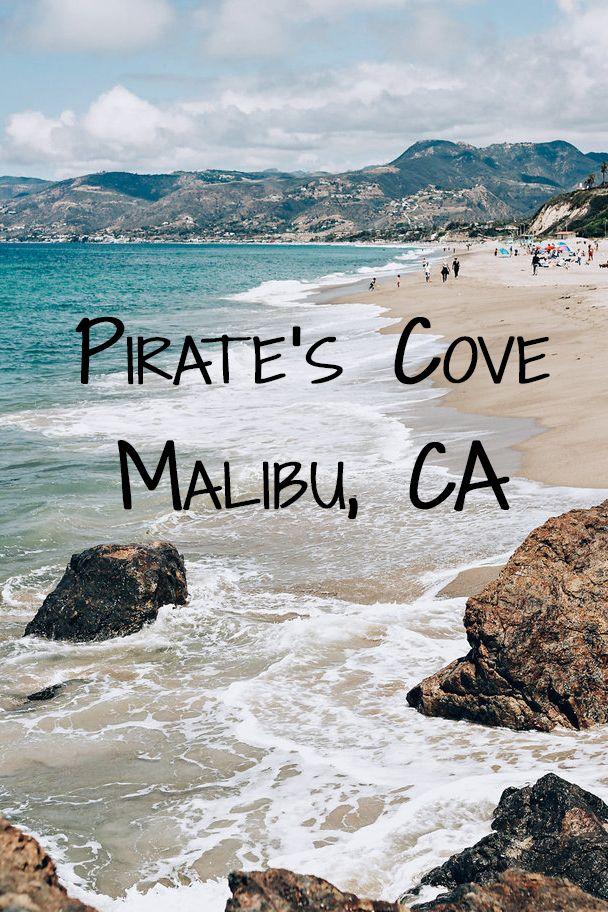 Pirate's Cove Beach in Malibu, California. The perfect spot for photography and amazing views. | Tekwani Travels www.ninatekwani.com