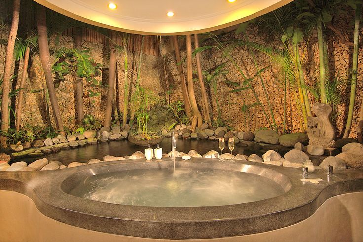 Villa 12 bathroom at Villa Kubu, Seminyak, Bali