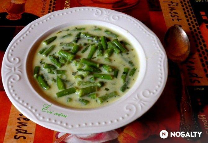Tárkonyos zöldbabfőzelék Évi néni konyhájából
