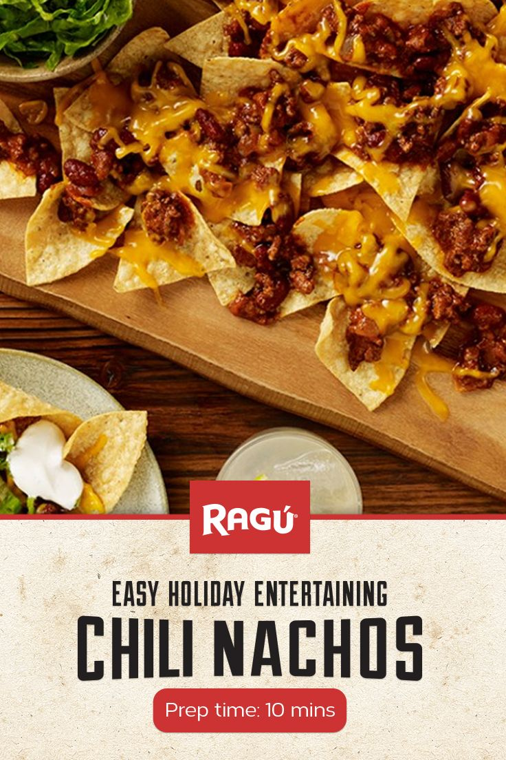 Don't want to be the hostess stuck in your kitchen the whole party? These tasty Chili Nachos are a perfect solution! Quick prep means more time to mingle.