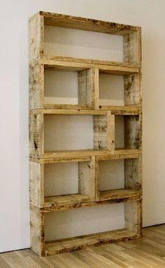 $3 DIY Bookshelf. Comfy, cozy addition to any room. Cute!