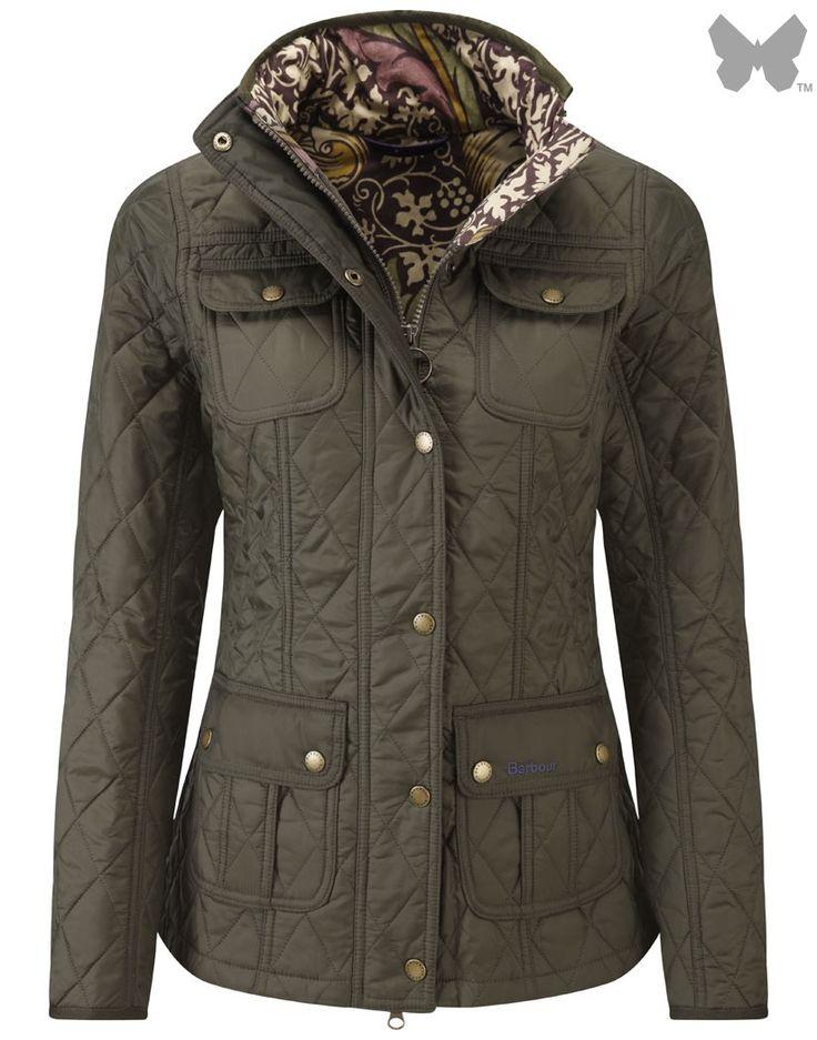 Barbour Ladies' Morris Utility Quilt Jacket – Olive/Kennet LQU0568OL91