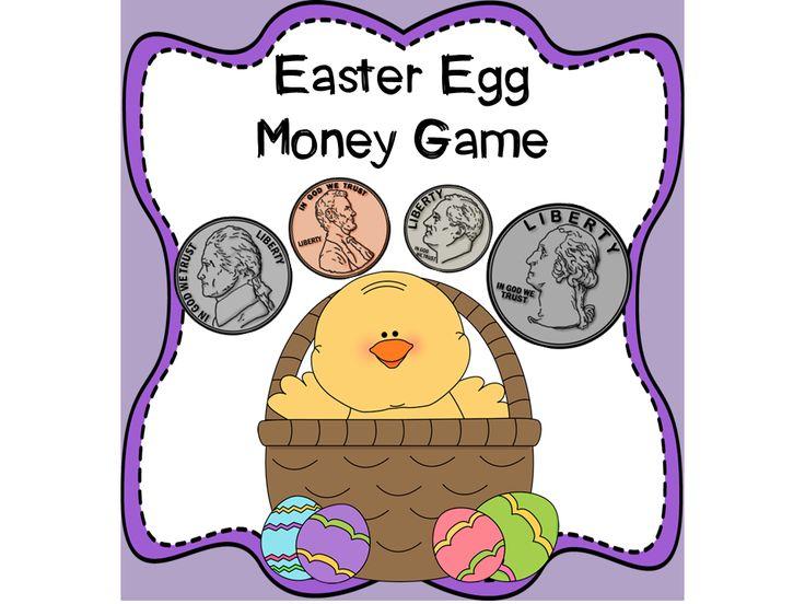 Easter Egg Money Game Money Games Learning Money Play