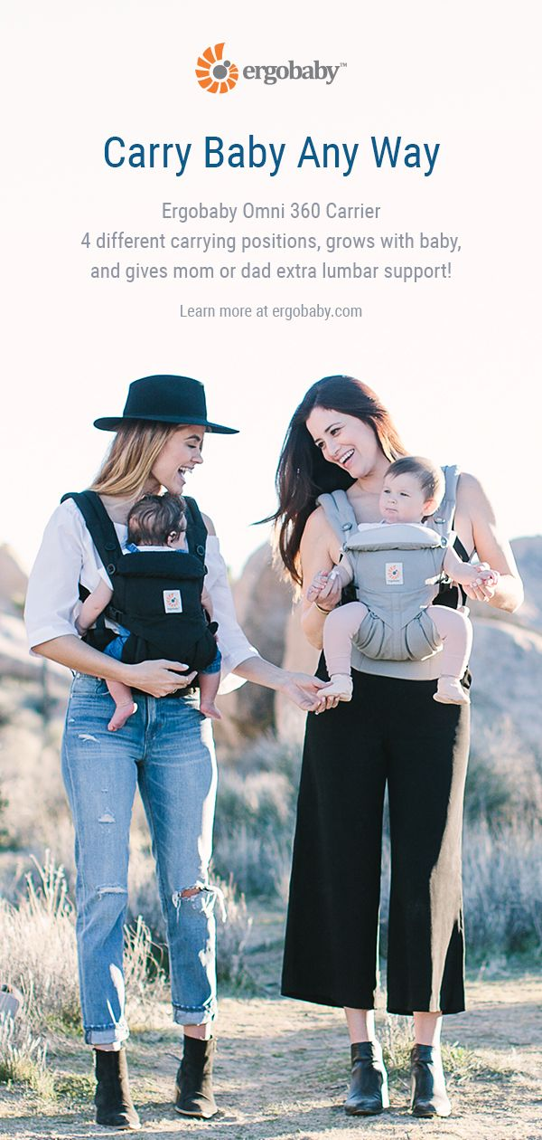 Ergobaby Omni 360 Baby Carrier Whatever Position Is Most