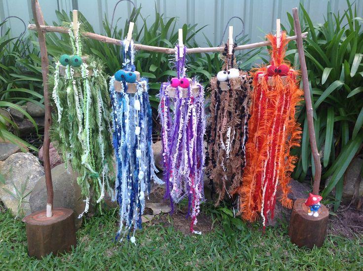 5 Jellyfish, handmade and available at https://www.facebook.com/Fingadingadoo