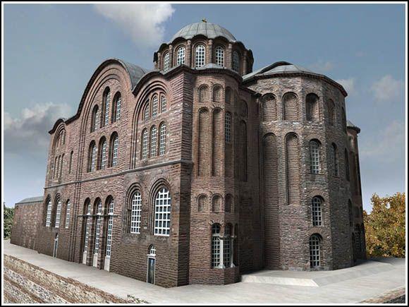 Gül Camii  Churches of Saint Euphemia,   Saint Theodosia and that of the Euergetis Monastery