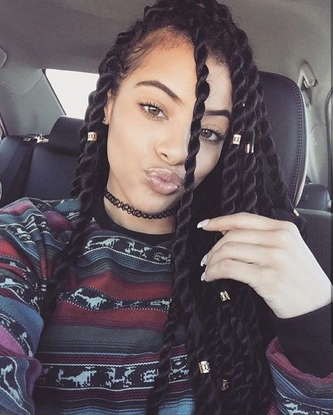 Tremendous 1000 Ideas About Black Braided Hairstyles On Pinterest Hairstyles For Women Draintrainus