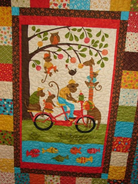 11 Best Images About Panel Quilts On Pinterest Quilt
