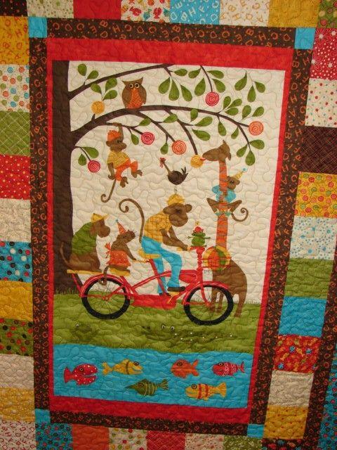 11 Best Images About Panel Quilts On Pinterest Quilt