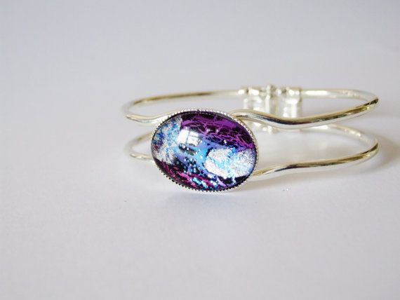 Galaxy Silver Bracelet by UniquelyUJewellery on Etsy, £22.00