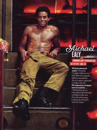 Michael Ealy...OMG he loves Prince! I'm pretty sure I just jizzed my pants!