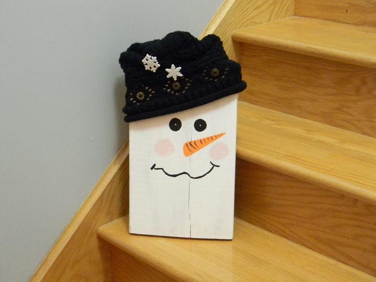 Décoration Bonhomme de neige / Snowman Decoration