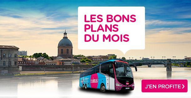 Voyagez en bus à petit prix au mois d'octobre 2015 vers Paris, Lyon, Strasbourg, Nantes, Rouen et Le Havre