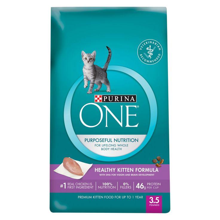 Purina EINE gesunde Kätzchen-Formel-erstklassiges trockenes Katzenfutter – Beutel 3.5lb