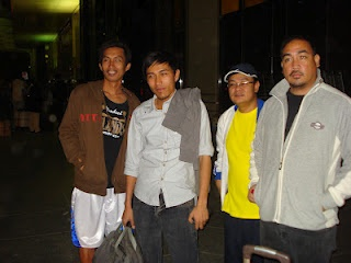 Rodel Bellosillo's send off at King Fahd International Airport - February 16, 2012