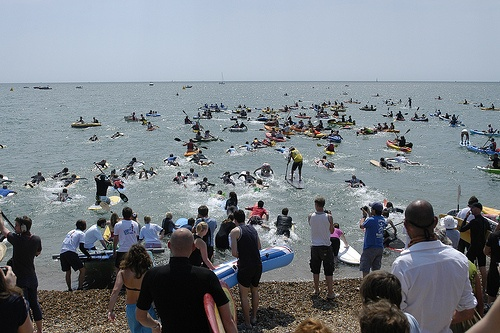 Paddle round the Pier 2012